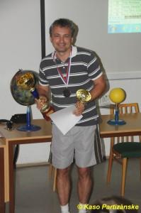 Milan Senica so svojimi trofejami